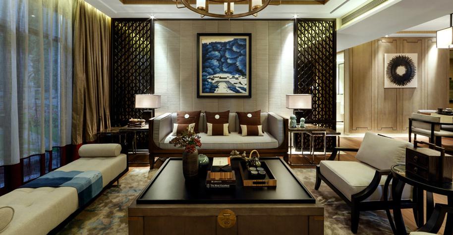 新中式别墅装修设计说明